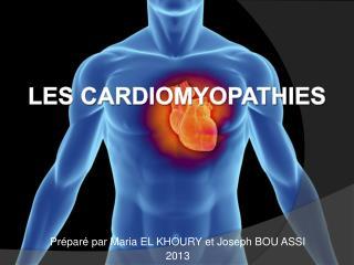 Préparé par Maria EL KHOURY et Joseph BOU ASSI 2013