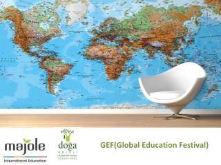 GEF(Global  Education  Festival)