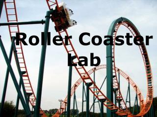 Roller Coaster Lab