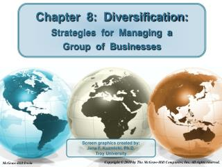 Chapter  8:  Diversification:  Strategies  for  Managing  a Group  of  Businesses