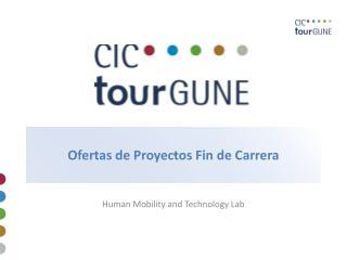 Ofertas de Proyectos Fin de Carrera