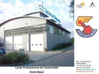 Lycée Professionnel de l'Automobile Émile Béjuit