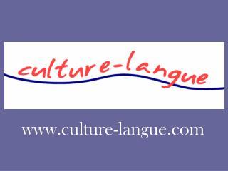 culture-langue