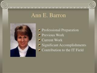 Ann E. Barron