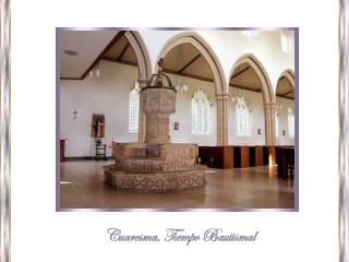 """""""Con Cristo fueron sepultados en el Bautismo,"""