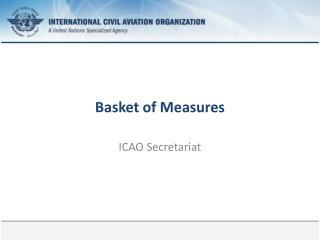 Basket of  Measures