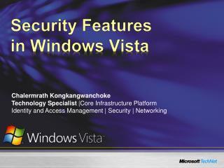 Security Features  in  Windows Vista