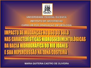 MARIA QUITERIA CASTRO DE OLIVEIRA