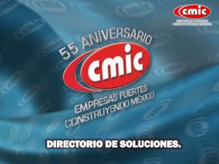 DIRECTORIO DE SOLUCIONES.