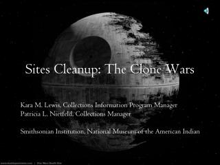 Sites Cleanup: The Clone Wars