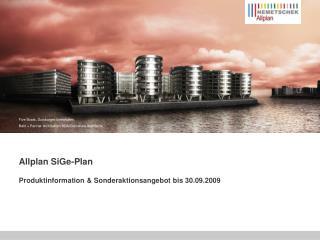 Allplan SiGe-Plan