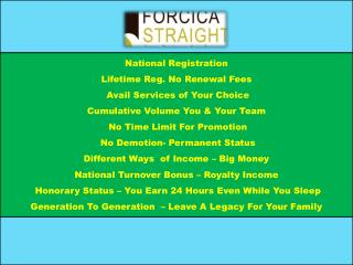 National Registration Lifetime Reg. No Renewal Fees  Avail Services of Your Choice