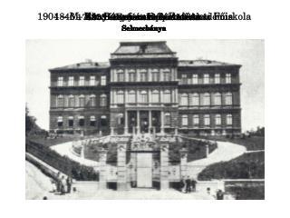 1735 - Bányatisztképző Iskola Selmecbánya