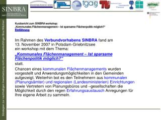 Flächeneinsparung und kommunale Zusammenarbeit Prof. Dr. Gerd Schmidt-Eichstaedt