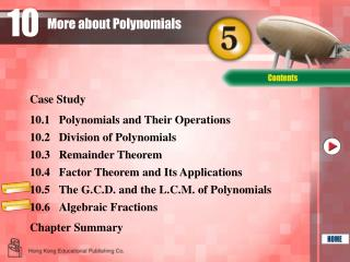 More about Polynomials