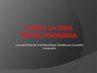 Living la vida Revolucionaria