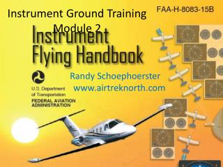 Instrument Ground Training  Module 2