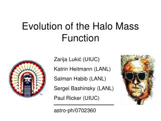 Evolution of the Halo Mass Function