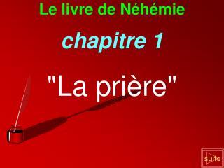 Le livre de Néhémie