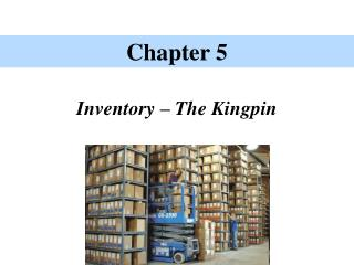 Inventory � The Kingpin