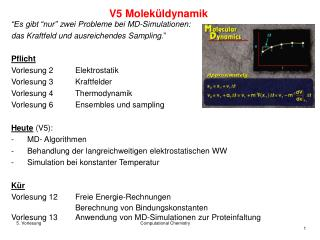 V5 Moleküldynamik