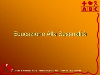 Educazione Alla Sessualità