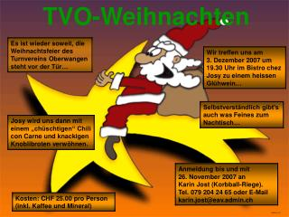TVO-Weihnachten