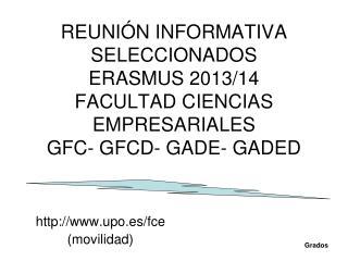 upo.es/fce  (movilidad)