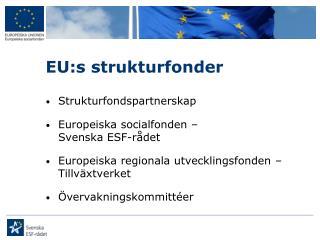 EU:s strukturfonder