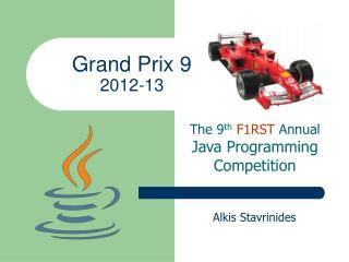 Grand Prix 9 2012-13