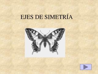 EJES DE SIMETRÍA