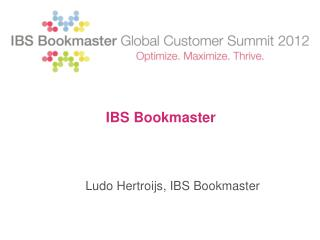 IBS Bookmaster