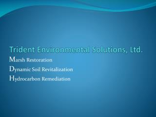 Trident Environmental Solutions, Ltd.