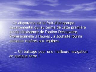 DP3HEURES       GROUPE DE TRAVAIL                DEPARTEMENTAL