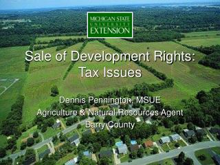 Sale of Development Rights: Tax Issues