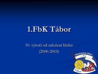 1.FbK Tábor