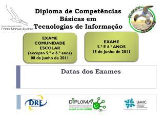Diploma de Competências Básicas em  Tecnologias de Informação