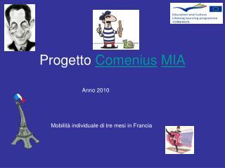Progetto  Comenius MIA