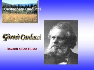 Davanti a San Guido