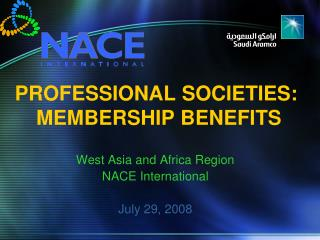 PROFESSIONAL SOCIETIES:  MEMBERSHIP BENEFITS