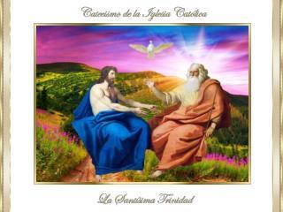 """I """"En el nombre del Padre y del Hijo y del Espíritu Santo"""""""