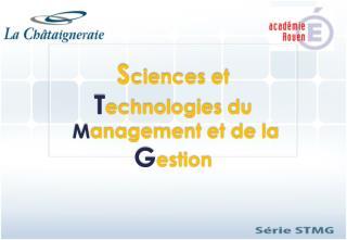 S ciences  et  T echnologies du M anagement et de la  G estion