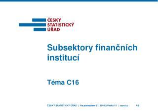 Téma C16