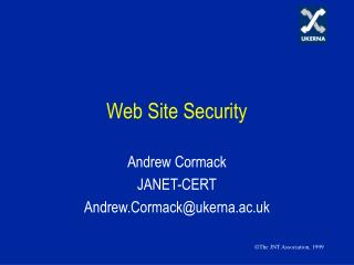 Web Site Security