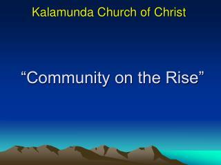 Kalamunda Church of Christ