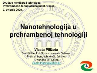 Nanotehnologija u prehrambenoj tehnologiji