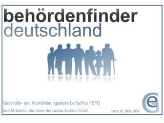 Geschäfts- und Koordinierungsstelle LeiKaPlus / BFD