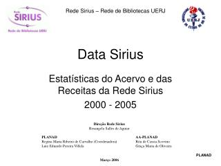 Data Sirius