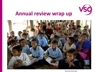 Annual review wrap up