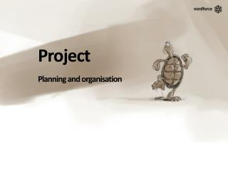 Project Planning and organisation